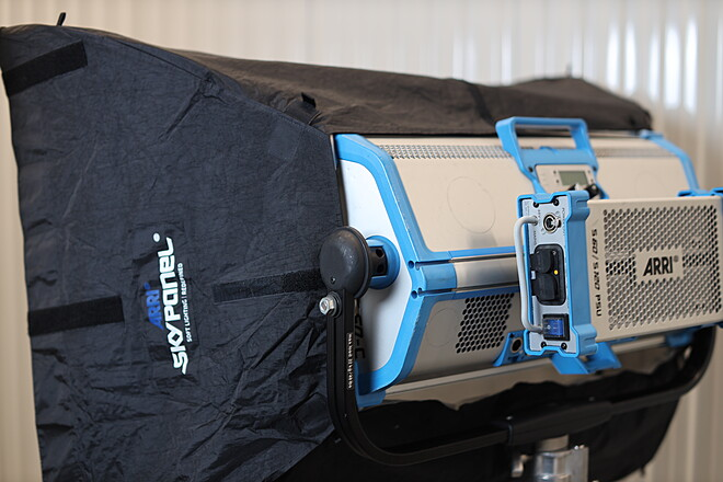 ARRI Skypanel S60-C LED Light Kit  w/ Softbox, Egg Crate and Case